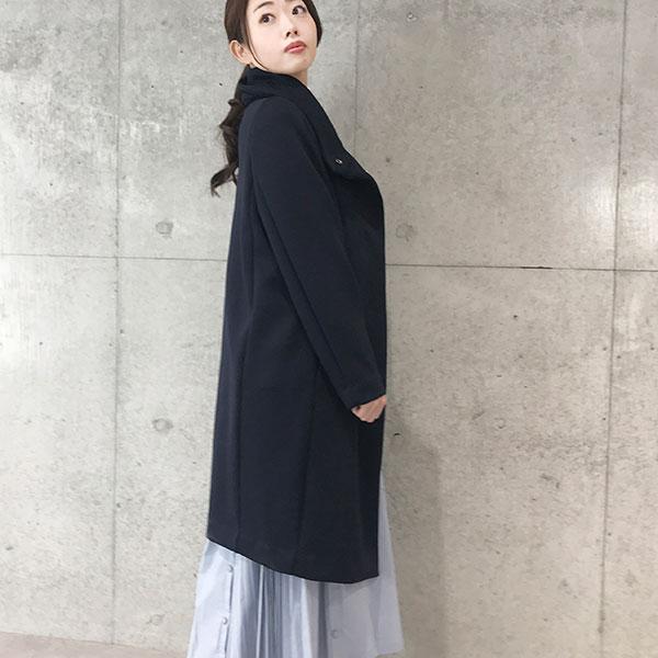 2019秋冬 エアクッションロングコート軽いコート 【9525702】