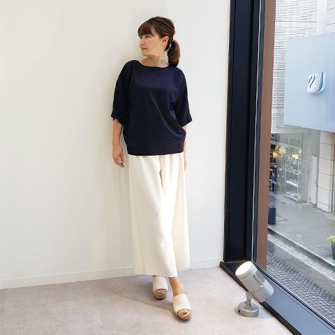 "2021`Spring/Summer ""Blue Bee″丸飾りプルオーバー【1328505】"