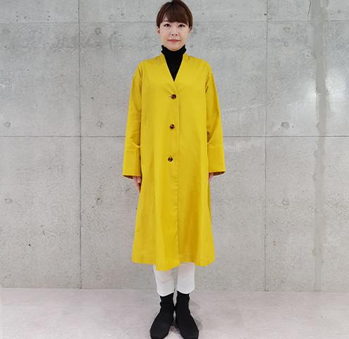 2020秋冬コットンペンシルコート 【9527701】