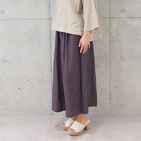 2021`Spring / Summer ワッシャーリネンパンツ【6228501】