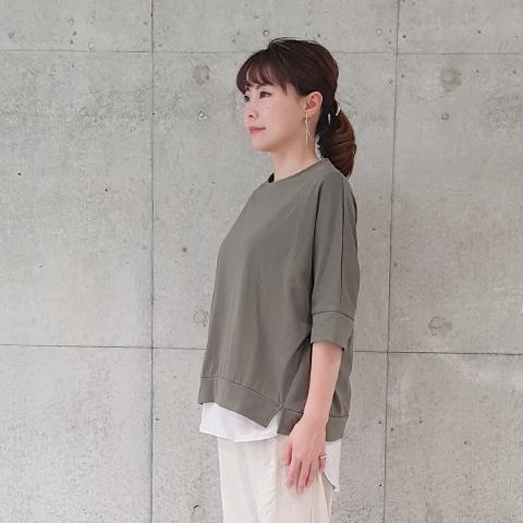 2021` Spring/Summerテープディティールプルオーバ 【1328508】