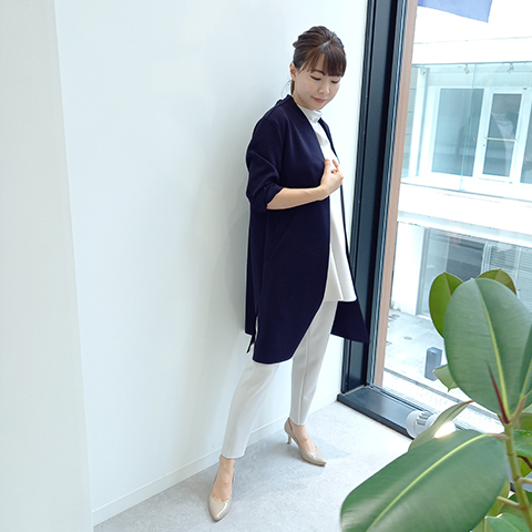 2021`Autumn/Winter【Aqua】コーディガン 【4224701】