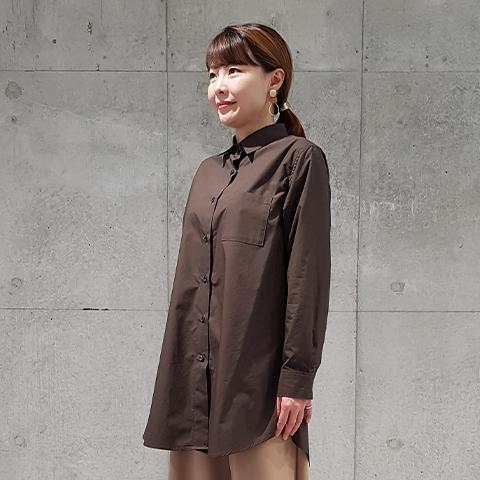 2020`秋【タイプライター】チビ衿ブラウス 【0127793】