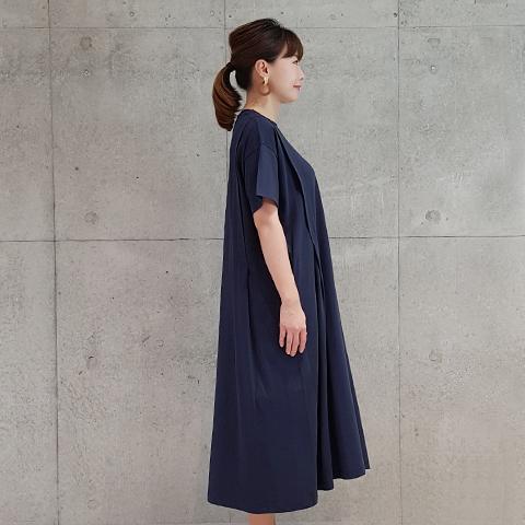 2021` Spring/SummerAラインカットソーワンピース 【SK1270】