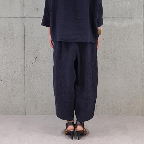 2020`秋冬レガラートポンチワイドパンツ  【6127790】