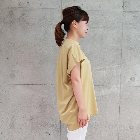 2021` Spring/Summerコクーンワイドプルオーバ 【SK1271】