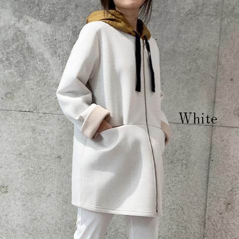 2020秋冬 【PONCHI】 ラウンドネック コート【4226502】