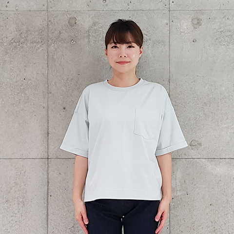 2021` Spring/SummerCPB染めポケット付きTシャツ 【S61274】