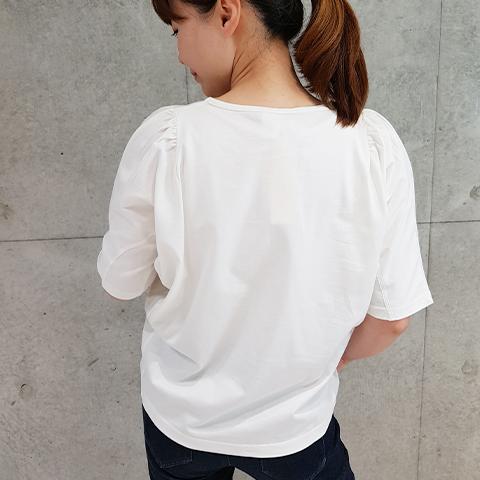 2021` Spring/SummerCPB染めふんわりスリーブTシャツ 【S61275】