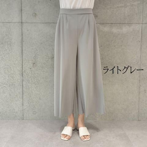 "2021` Spring/Summer ""Puluri""ワイドパンツ【6125701-28】"