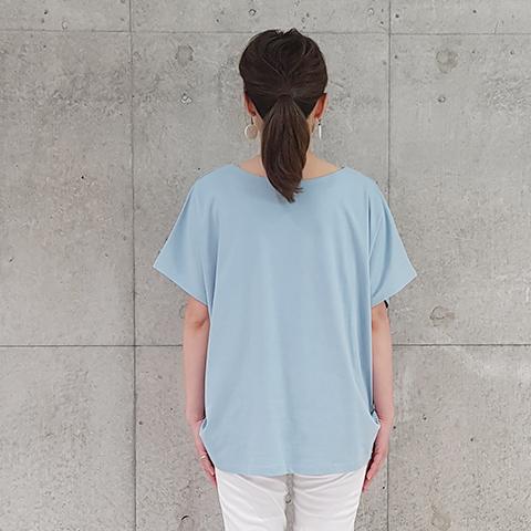 "2021` Spring/Summer""Blue Bee""プリント綿プルオーバ 【1328513】"