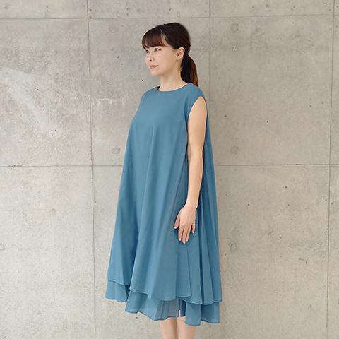 2021`Spring/Summer 綿ローンワンピース【212936】