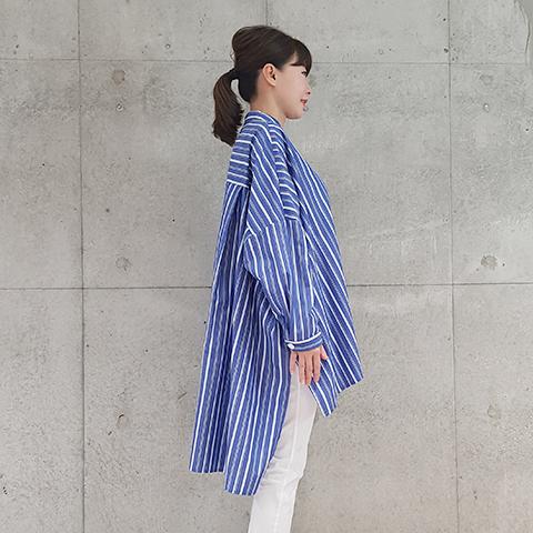 2021`Spring/Summerビッグシルエットシャツ【0128501】