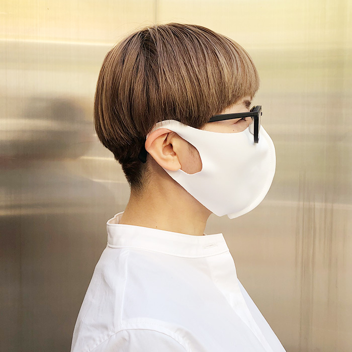 2020春 Aqua 国産立体マスク 大人用2枚 子供用1枚 セット 布マスク 【10126503】<br>*送料無料(レターパックライト)