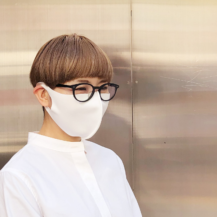 2020春 Aqua 国産立体マスク 大人用3枚 子供用2枚 セット 布マスク 【10126505】<br>*送料無料(レターパックライト)