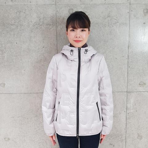 2020`秋冬シームレス英字ロゴダウン 【68628】
