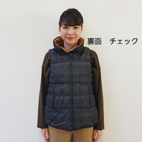 2020`秋冬 リバーシブルダウンベスト 【F149041】