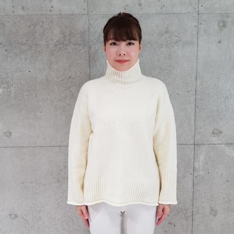 2021`Sping ドロップショルダーセーター【174-5109】