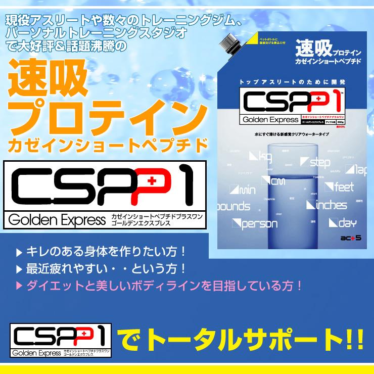 act5 速吸プロテイン CSPP1 カゼインショートペプチド プラスワン (600g) A041