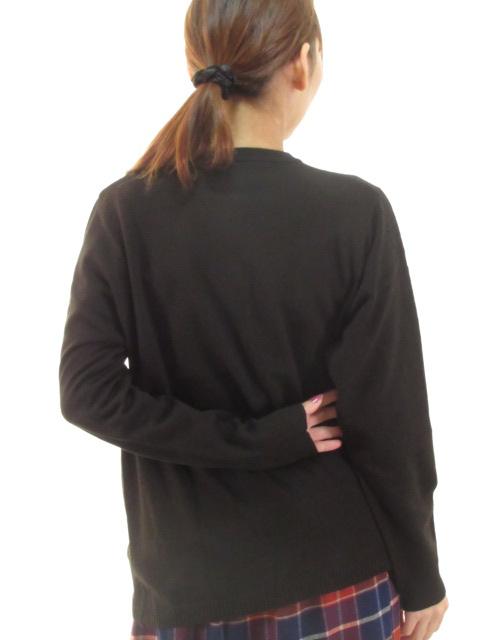 Lady's ポケット柄編みカーディガン