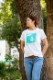 Lady's 雲 Tシャツ [ネコポス対応]