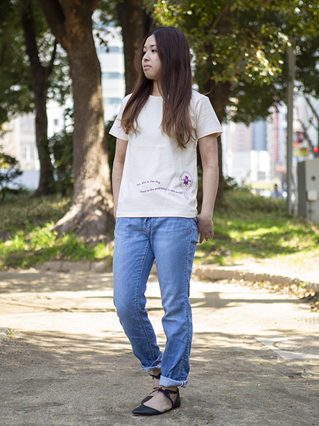Lady's かがみ Tシャツ [ネコポス対応]