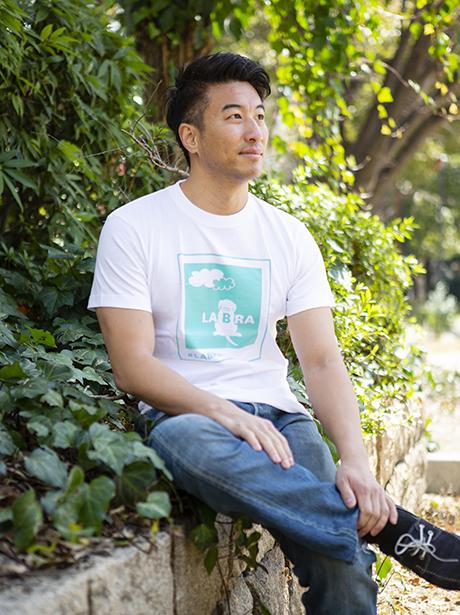 Men's 雲 Tシャツ [ネコポス対応]