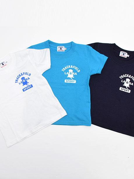 キッズTRACKFIELDプリントTシャツ [ネコポス対応]