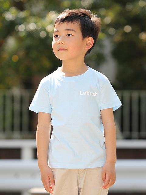 KID's 【定番】バックロゴプリントTシャツ [ネコポス対応]