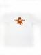 KID's 【定番】バックロゴプリントTシャツ ホワイトボディ [ネコポス対応]