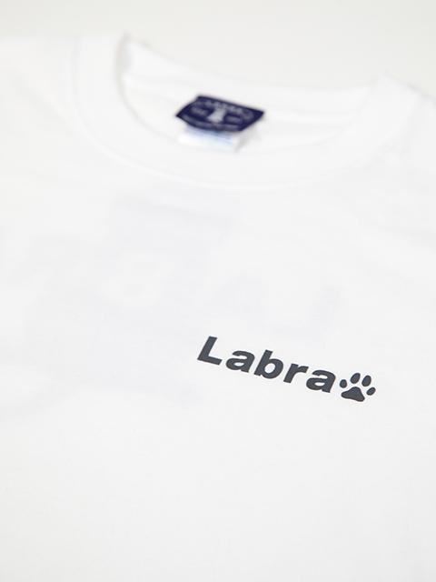 MEN's 【定番】バックロゴプリントTシャツ ホワイトボディ [ネコポス対応]
