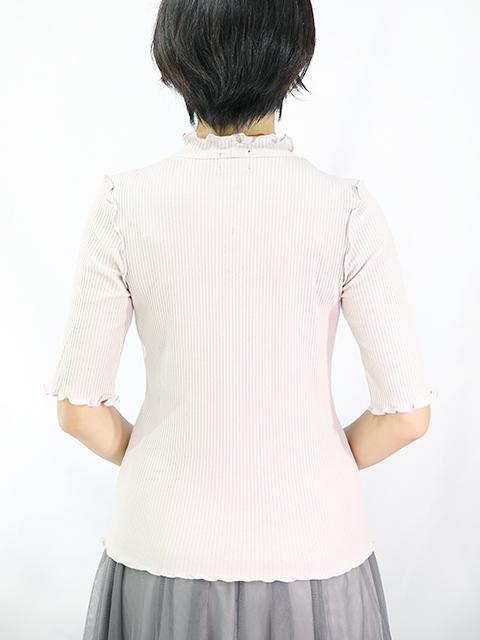 Lady's 五分袖トップス2色  [ネコポス対応]