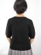 Lady's Vネックセーター3色