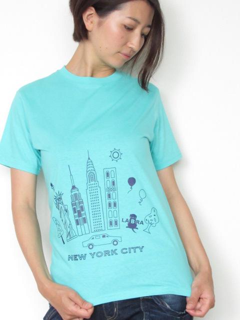 Lady's NY Tシャツ [ネコポス対応]