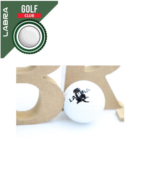 【LABRA GOLF CLUB】ゴルフボール(3個入り)