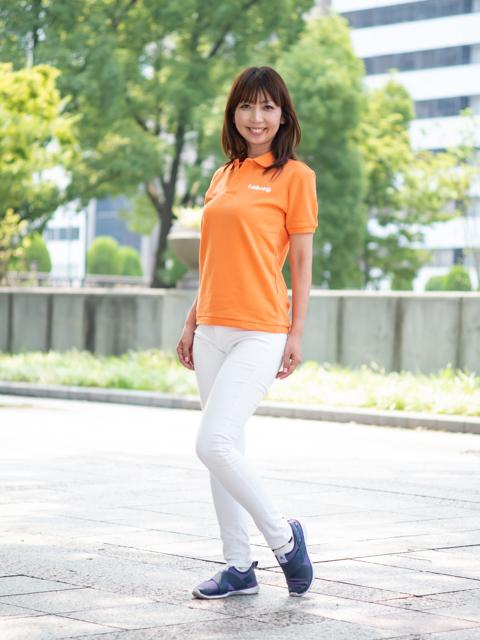 Lady's 【定番】バックロゴポロシャツ [ネコポス対応]