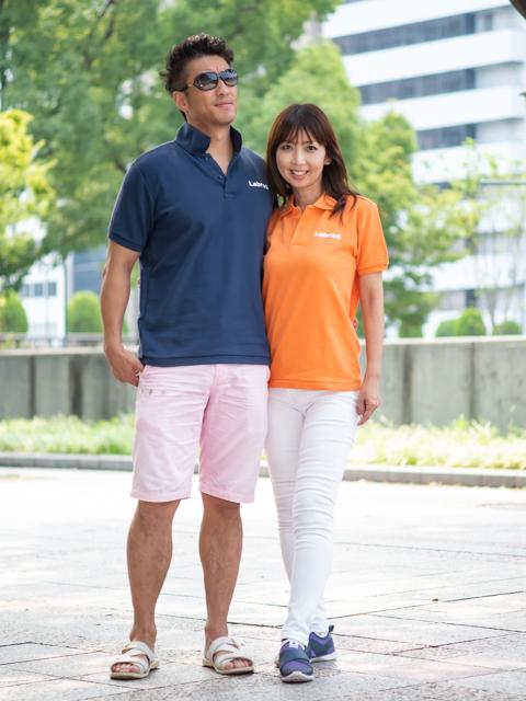 Men's 【定番】バックロゴポロシャツ [ネコポス対応]