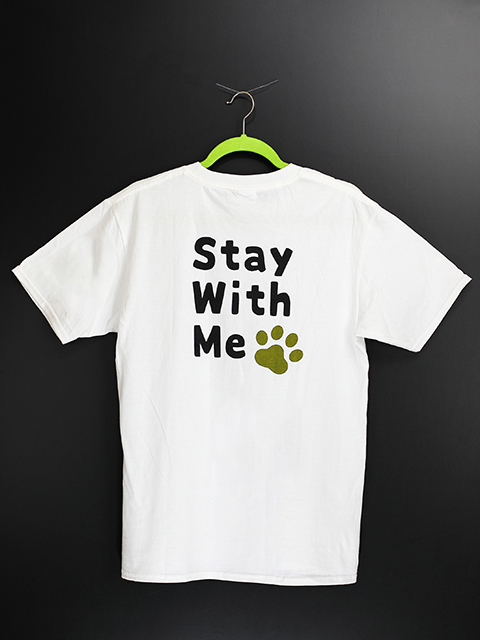 Stay With Me T-shirt (ネコポス対応)