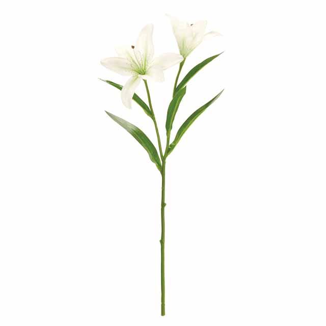 ステラリリー ホワイトグリーン(東京堂/FM001917-001, FM1917)【アーティフィシャルフラワー(高級造花)】