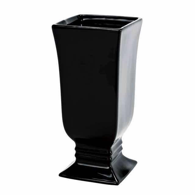 ディークトールL シャイニーブラック(東京堂/CX000619-020, CX619)【フラワーベース(花器)】