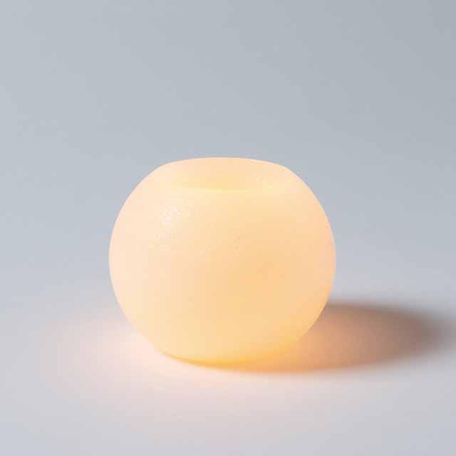 LEDワックスベース ボールS(東京堂/XT018405, XT18405)【フラワーベース(花器)】