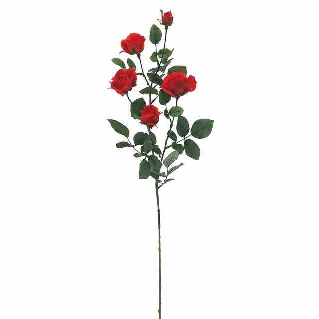 ルナアレクサンダーローズ レッド(東京堂/FM000118-003, FM118)【アーティフィシャルフラワー(高級造花)】