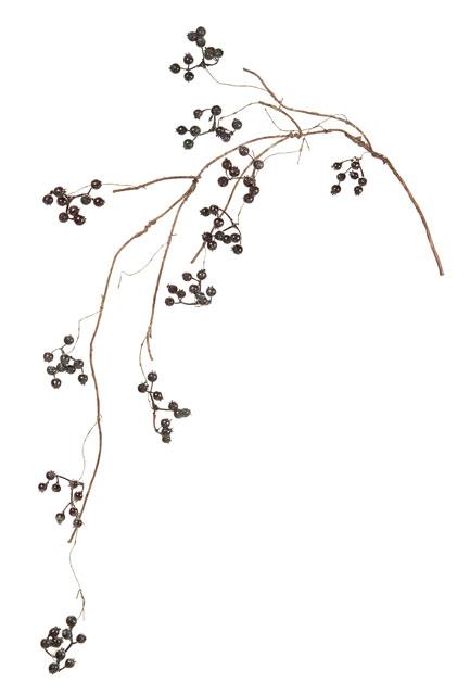 サンキライツイッグ ブラックパープル(東京堂/FM003029-017, FM3029)【アーティフィシャルフラワー(高級造花)】