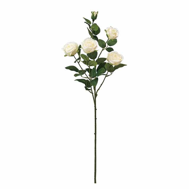 プリマスプレーローズ クリーム(東京堂/FM002295-001, FM2295)【アーティフィシャルフラワー(高級造花)】