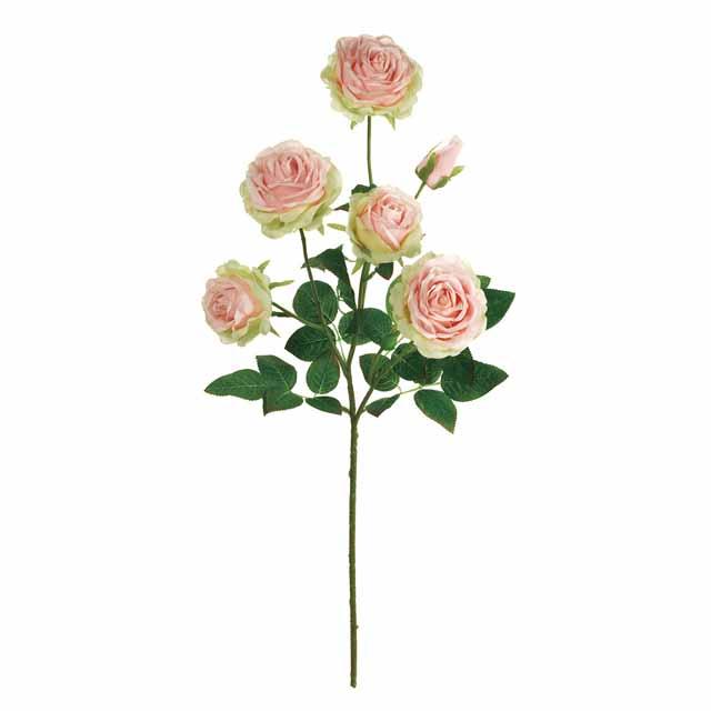 フレアローズ ピンク(東京堂/FM001982-002, FM1982)【アーティフィシャルフラワー(高級造花)】