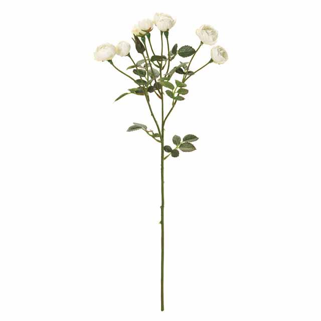 リアンスプレーローズ クリーム(東京堂/FM007893-001, FM7893)【アーティフィシャルフラワー(高級造花)】