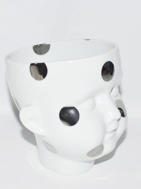 THROW A KISS フラワーベース 磁器 ヘッド 5種類