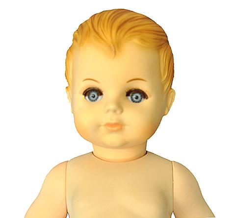 petitcollin 60cm 裸のお人形 直立型
