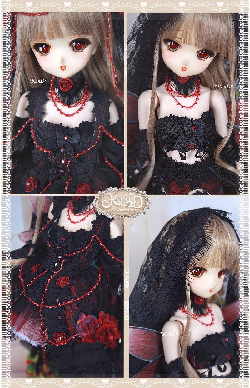 【即納MDD,40cm】妖精の花嫁