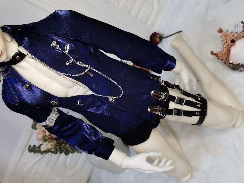 【受注】sexyベロア拘束フルセット【61-68cm】